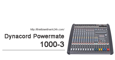 Mixer Dynacord Powermate 1000-3