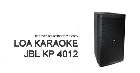 Loa JBL KP 4012